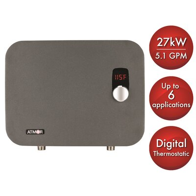 ThermoPro 27kW/240V 5.1 GPM Electric Tankless Water Heater