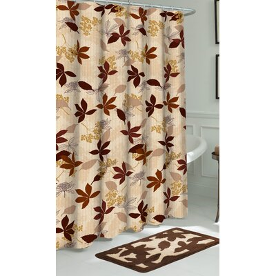 Blowing Leaves Shower Curtain Set