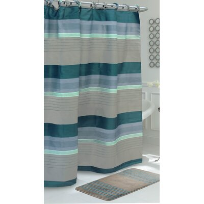Regent Stripe Shower Curtain Set