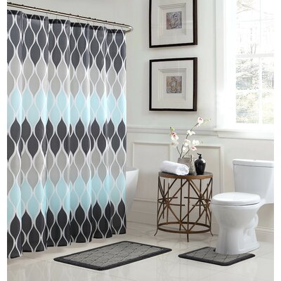 Clarisse Shower Curtain Set
