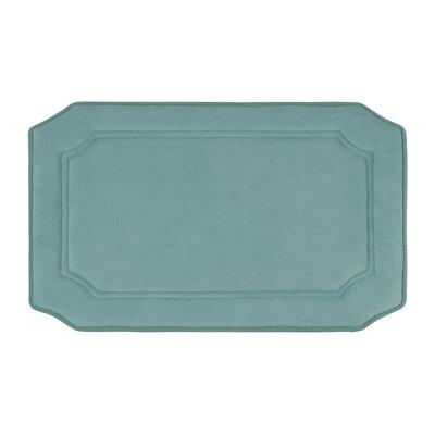 Walden Premium Micro Plush Memory Foam Bath Mat Color: Marine Blue, Size: 20 W x 32 L