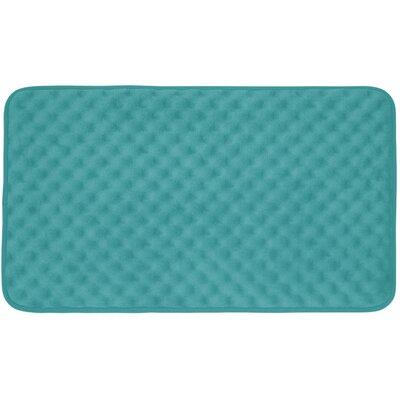 Witmer Micro Plush Memory Foam Bath Mat Size: 20 W x 32 L, Color: Turquoise