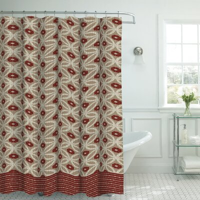 Oxford Fabric Weave Textured Shower Curtain Set