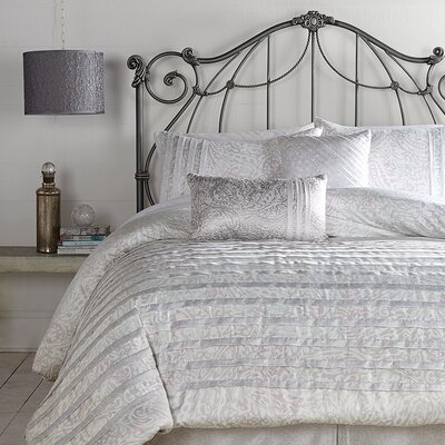Ethereal Pleats 3 Piece Comforter Set Size: King