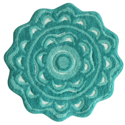 Medallion Aqua Sea Area Rug