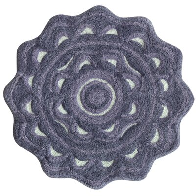Medallion Dusk Purple Area Rug