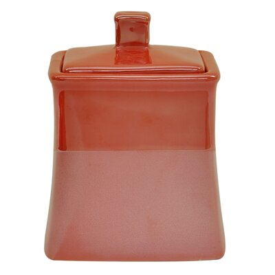 Kensley Jar Color: Spice Coral