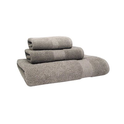 Signature Hand Towel Color: Neutral Gray