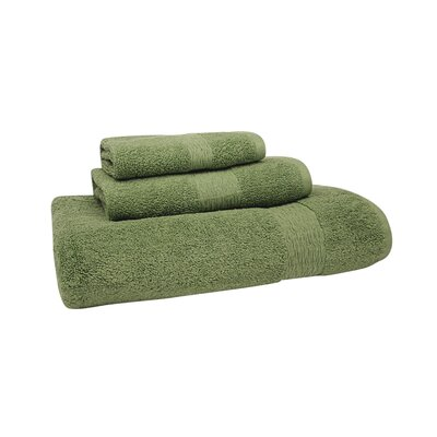 Signature Hand Towel Color: Shale Green