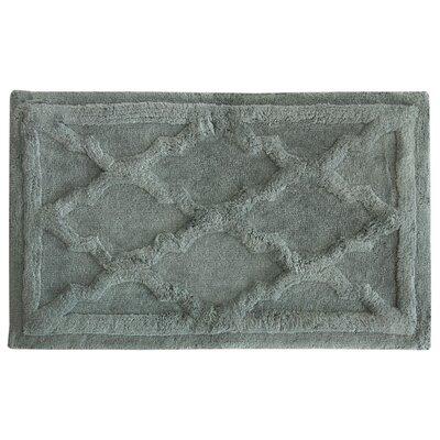 Penelope Bath Mat Color: Frost, Size: 34 L x 21 W