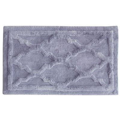 Penelope Bath Mat Color: Lavender, Size: 34 L x 21 W
