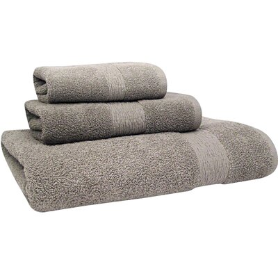 Signature Bath Towel Color: Neutral Gray