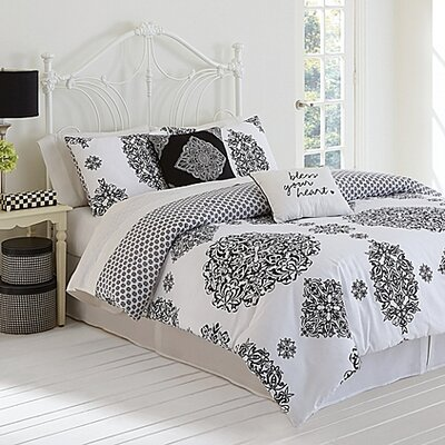 Charlotte 3 Piece Comforter Set Size: Full / Queen