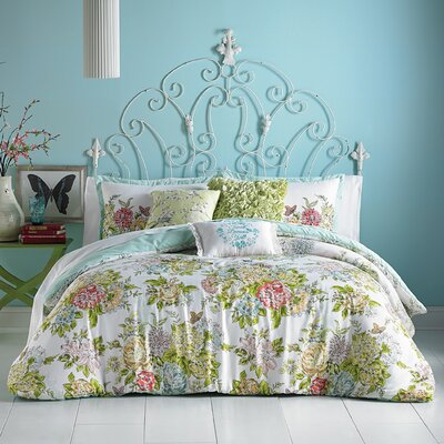 Elodie 3 Piece Comforter Set Size: Full/Queen