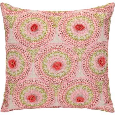 Amrita Medallion Cotton Throw Pillow