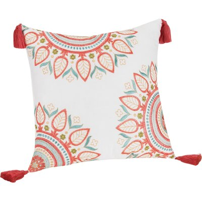 Sabine 100% Cotton Throw Pillow