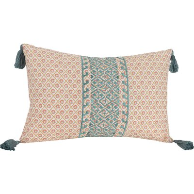 Sabine 100% Cotton Lumbar Pillow