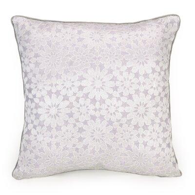 Primrose Medallion Decorative Silk Throw Pillow