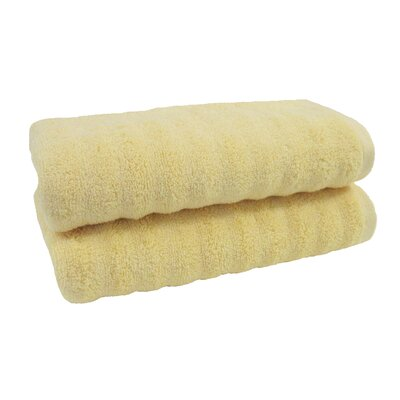 Sculpted Hand Towel Color: Apricot Gelato