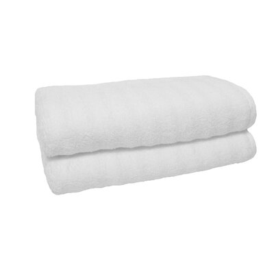 Sculpted Hand Towel Color: White