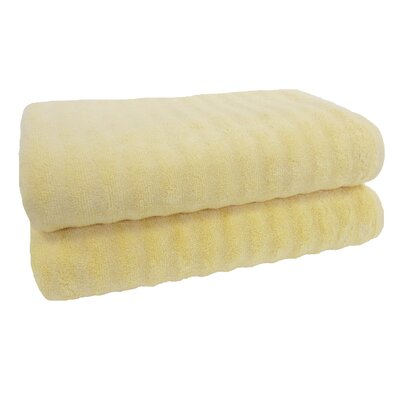 Sculpted Bath Towel Color: Apricot Gelato