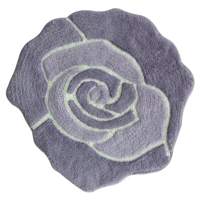 Bloom Bath Rug Color: Purple