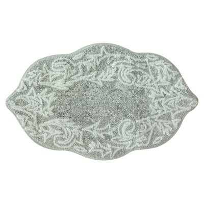 Selonia Bath Rug Color: Light Gray