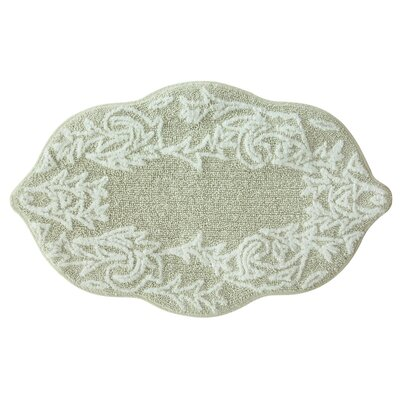 Selonia Bath Rug Color: Oyster Gray