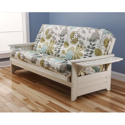 Phoenix English Garden Futon and Mattress Frame Finish: Antique White