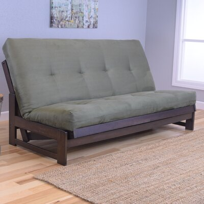 Aspen Futon and Mattress Upholstery: Suede Olive
