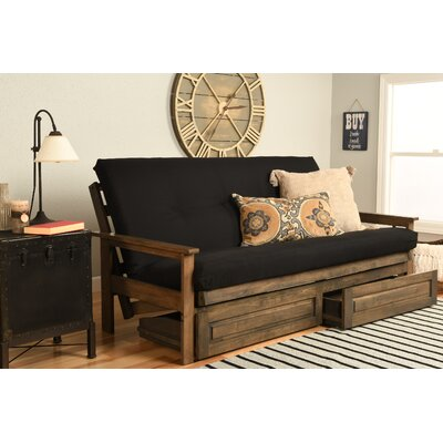 6 Coil Hinged Full Futon Mattress