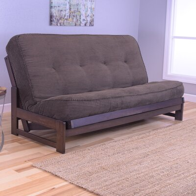Aspen Futon and Mattress Upholstery: Tantra Espresso