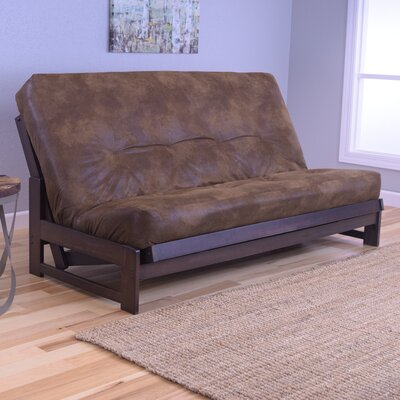 Aspen Futon and Mattress Upholstery: Palomino Tobacco