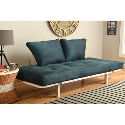 Ebern Designs EBND5033 Everett Convertible Lounger Futon and Mattress Upholstery