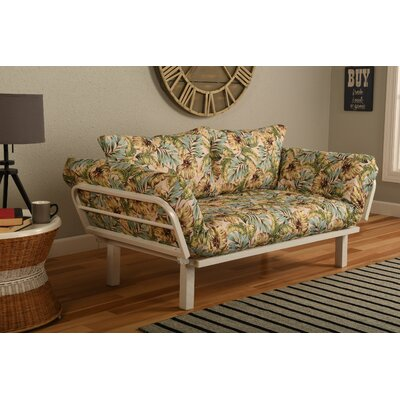 Alford Convertible Lounger in Panama Beach Futon and Mattress