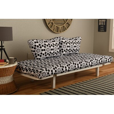 Ebern Designs EBND5047 Everett Convertible Lounger in Well Rounded Futon and Mattress