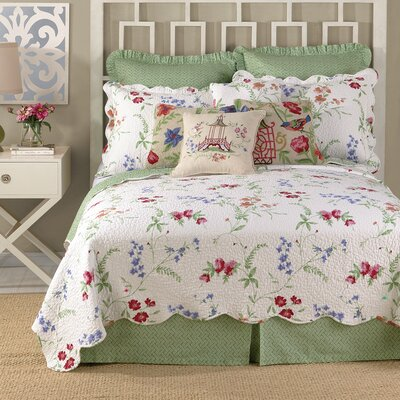 Elencourt Bed Skirt Size: Queen