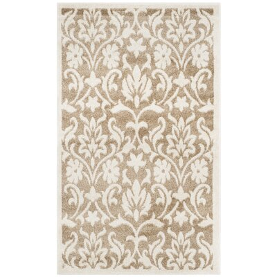 Barron Beige Indoor/Outdoor Area Rug Rug Size: Rectangle 4 x 6