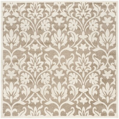 Barron Beige Indoor/Outdoor Area Rug Rug Size: Square 7'