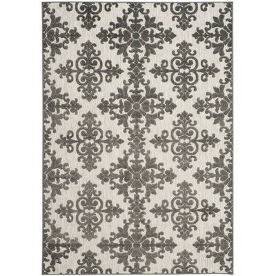 Clarence Indoor/Outdoor Area Rug Rug Size: 53 x 77