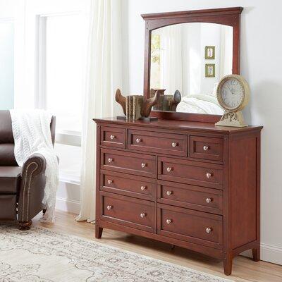 Summerville 9 Drawer Standard Dresser
