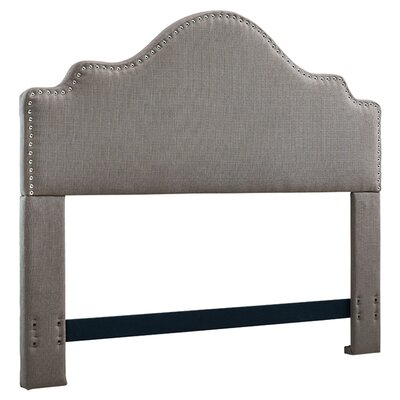 Clara Upholstered Panel Headboard Size: King/California King, Upholstery: Granite