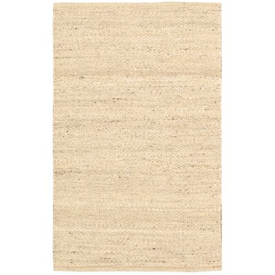 Laflin Hand-Woven Wheat Area Rug Rug Size: Rectangle 5 x 76