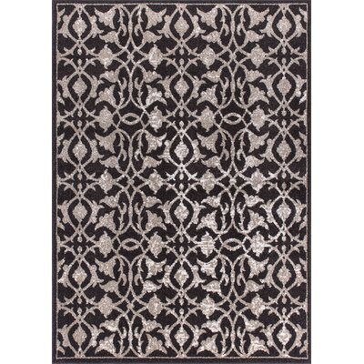 Jacksonwald Espresso Area Rug Rug Size: Rectangle 53 x 73