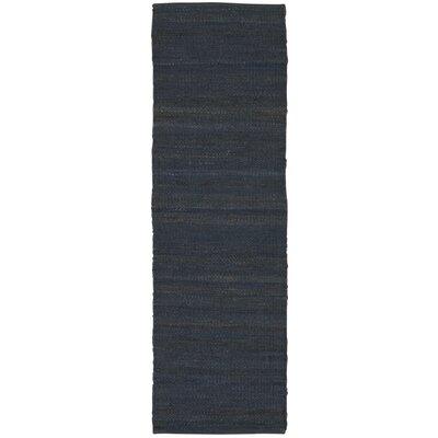 Laflin Hand-Woven Gray Area Rug Rug Size: Runner 2'3