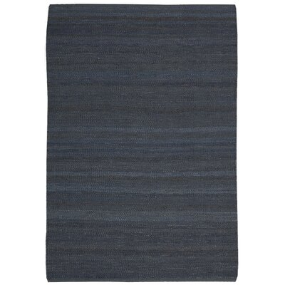 Laflin Hand-Woven Gray Area Rug Rug Size: Rectangle 2'6