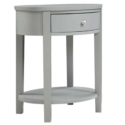 Canterbury End Table Finish: Gray