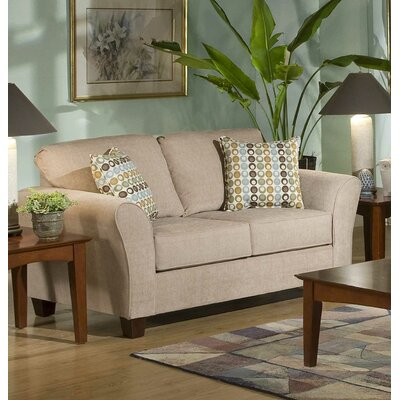 Serta Upholstery Franklin Loveseat Upholstery: Viewpoint Tan