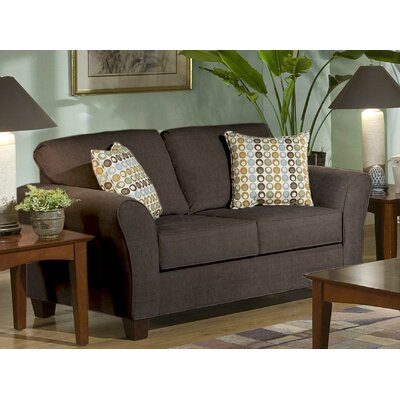 Serta Upholstery Franklin Loveseat Upholstery: Viewpoint Coffee