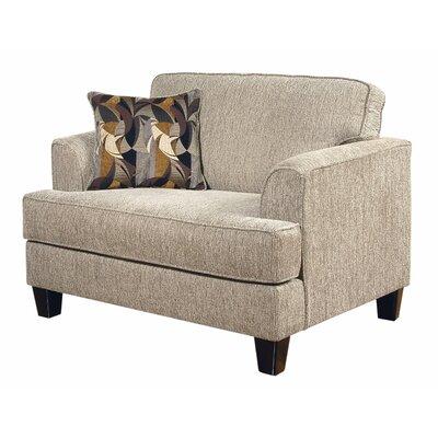 Serta Upholstery Davey Armchair Upholstery: Soprano Radical/Peppercorn